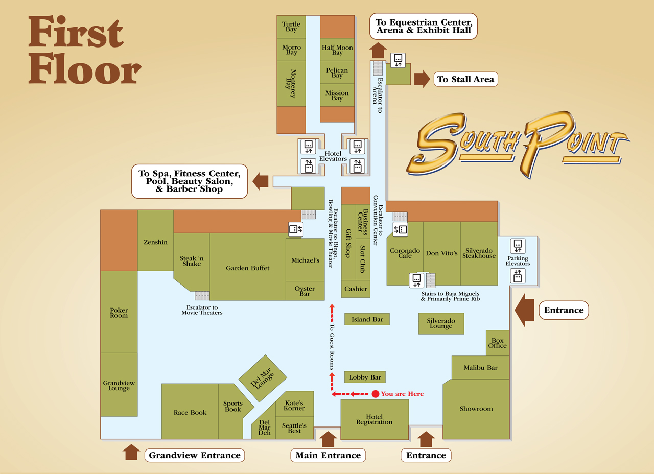 Virtual Tour  South Point Hotel Casino and Spa Official Website