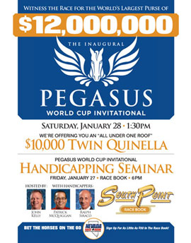 Pegasus world cup invitational packages