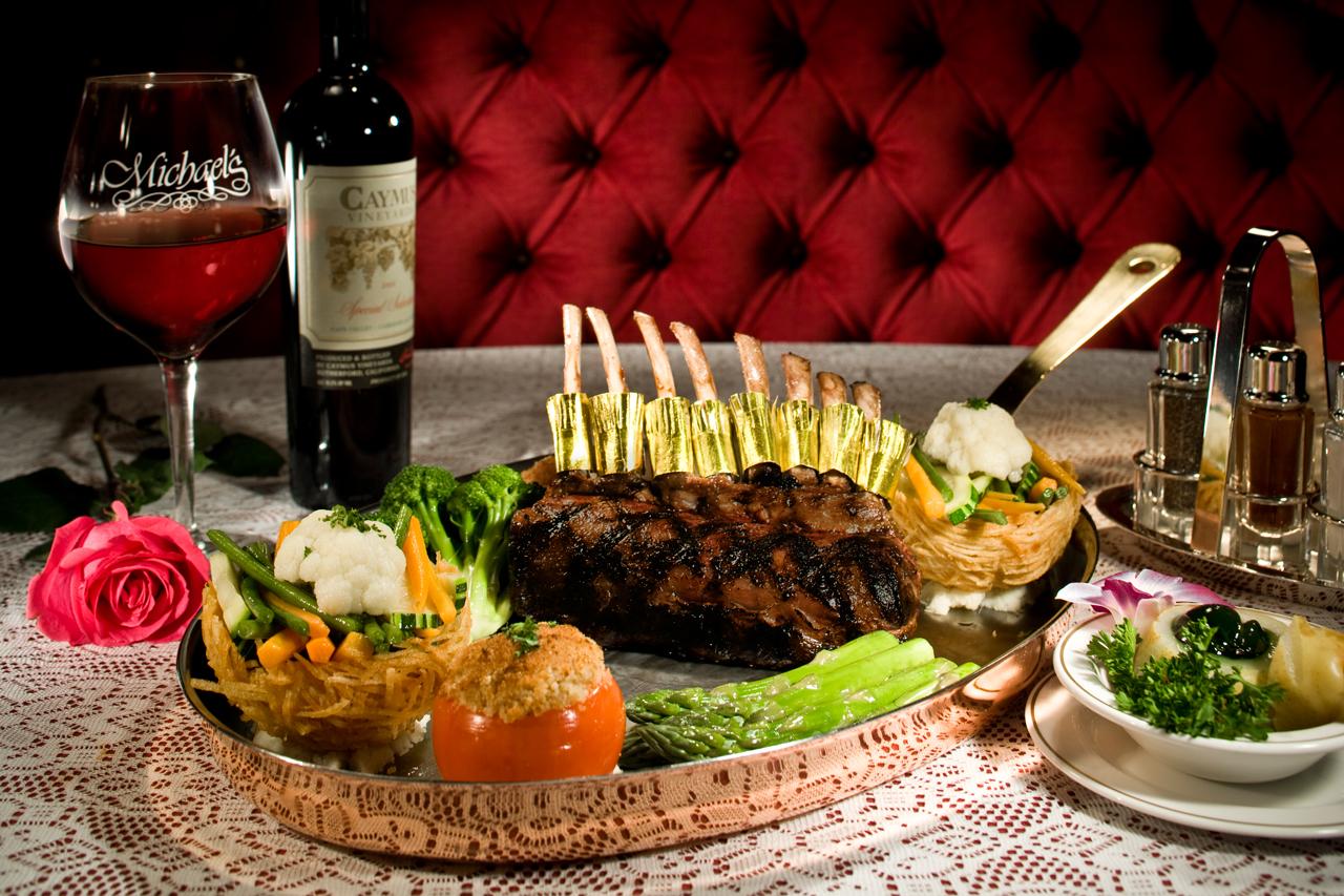 Michael S Gourmet Room Menu